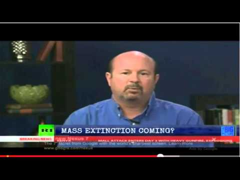 Michael Mann says global warming could cause mass extinctions, including of people