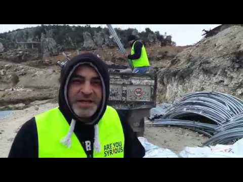 Are You syrious?  re-building a refugee camp in the Latakia province, Syria