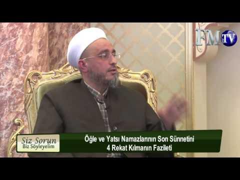 Öğle Ve Yatsı Namazlarının Son Sünneti Dört Rekat Kılınır Mı