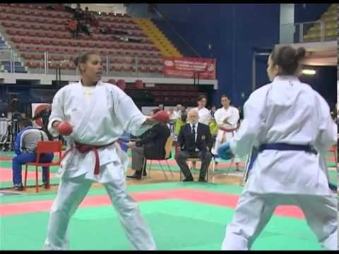 Open D'Italia di Karate Finale Seniores 61 KG Kornfeld - Quirici