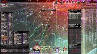 EVE Online: -GE- & RA Centry Dominixes shooting RANE Capitals Oneiros POV