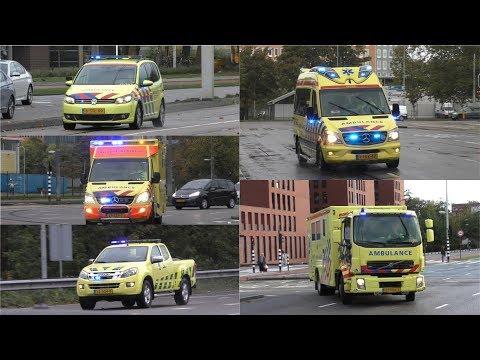 Hulpdiensten Met Spoed In Amsterdam