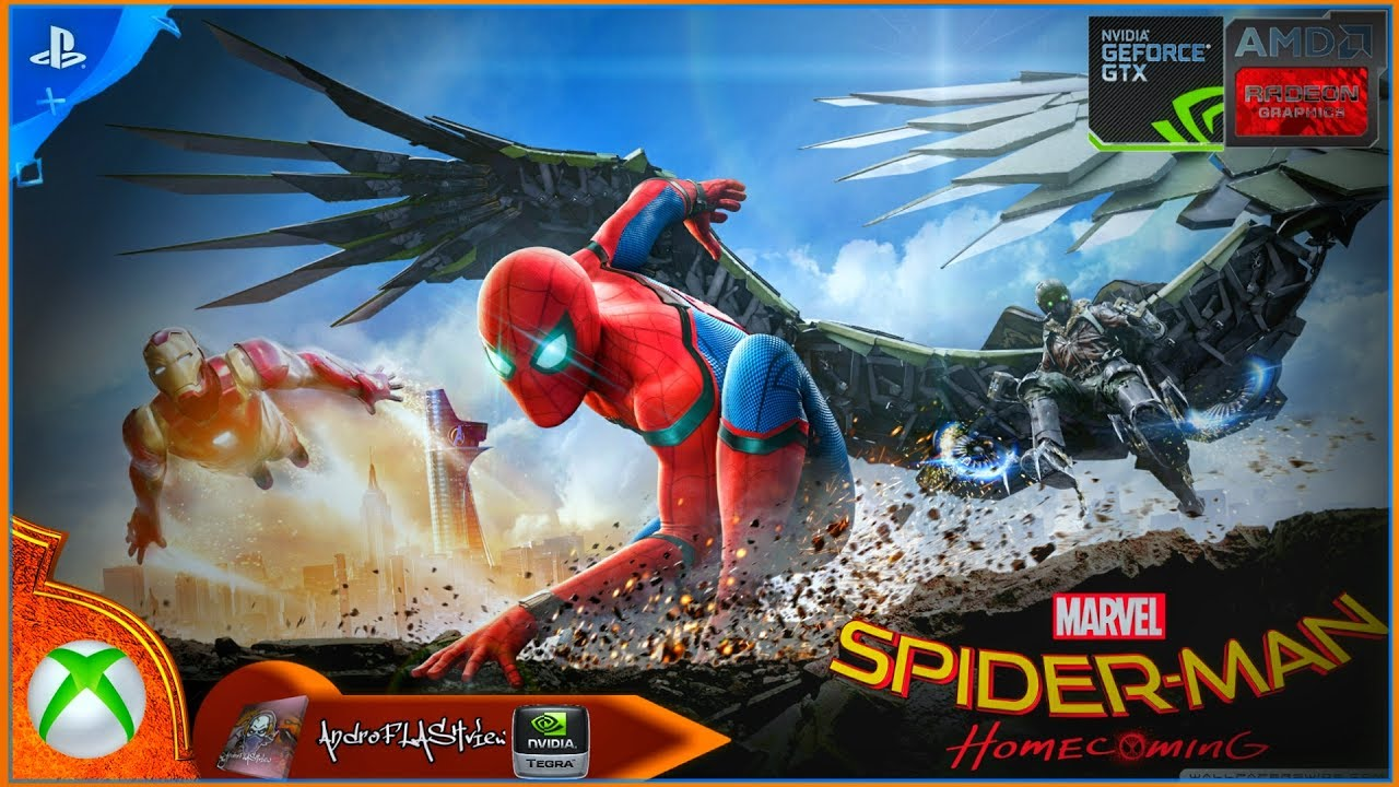 "spider-man homecoming edition"" - marvel heroes omega (ps4 & xbox one"