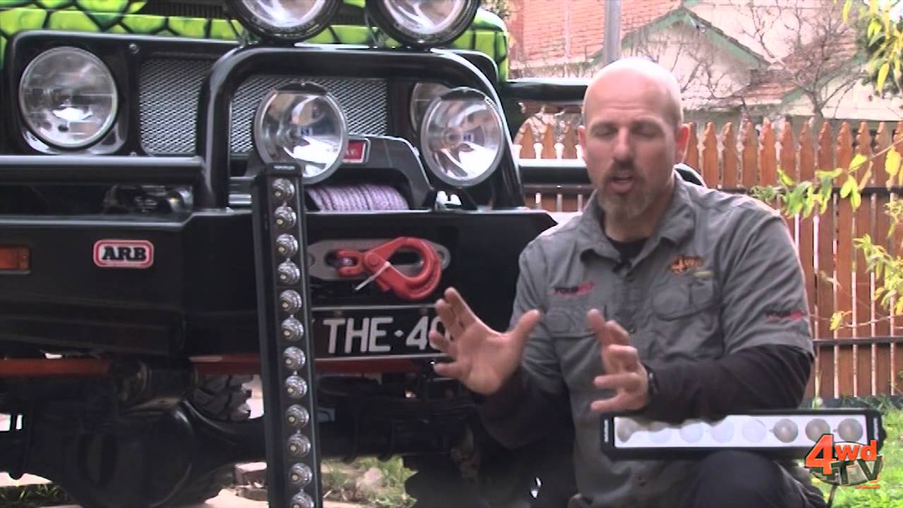 nissan patrol wiring diagram funny flow led light bar install on the40 - youtube