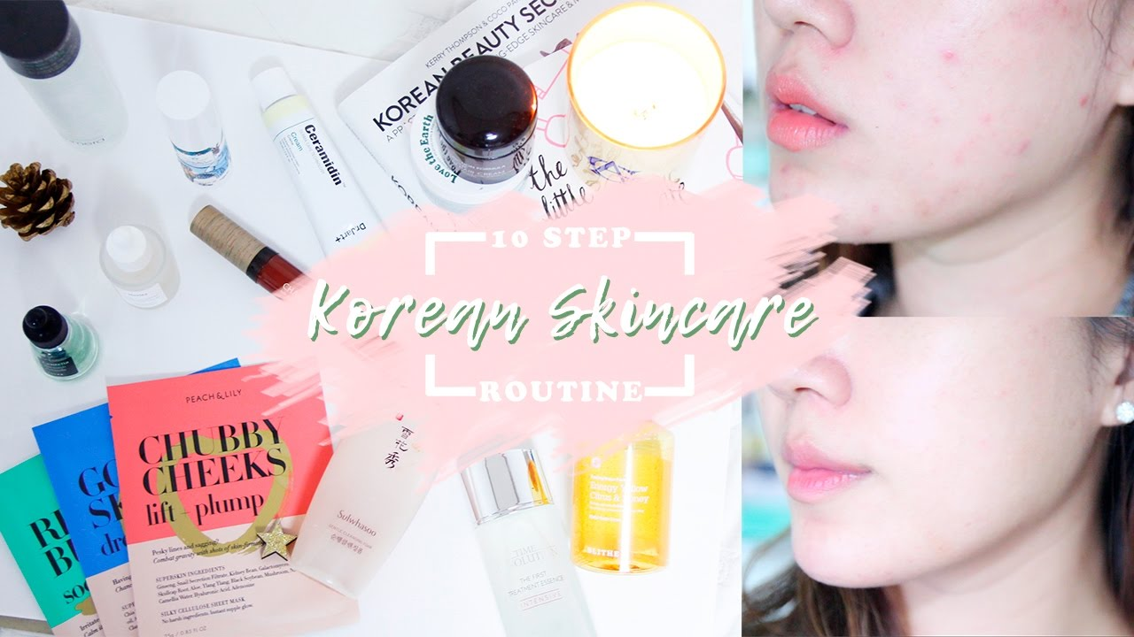 i tested 10 step korean skincare routine for 10 days | liah yoo skincare  routine ❤