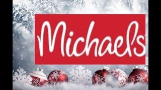 🎅🤶 SALE Michaels CHRISTMAS 2019 40-50% OFF!!🎄🌲