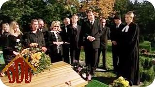 Spaßige Beerdigung