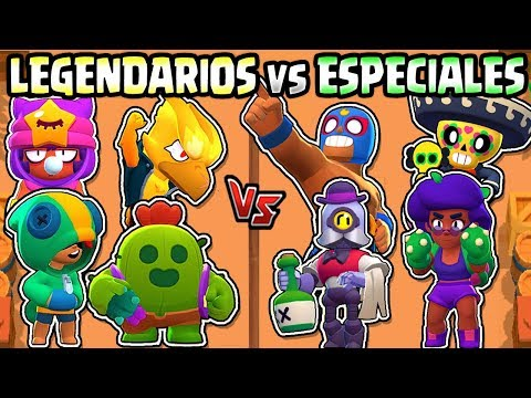 LEGENDARIOS VS ESPECIALES