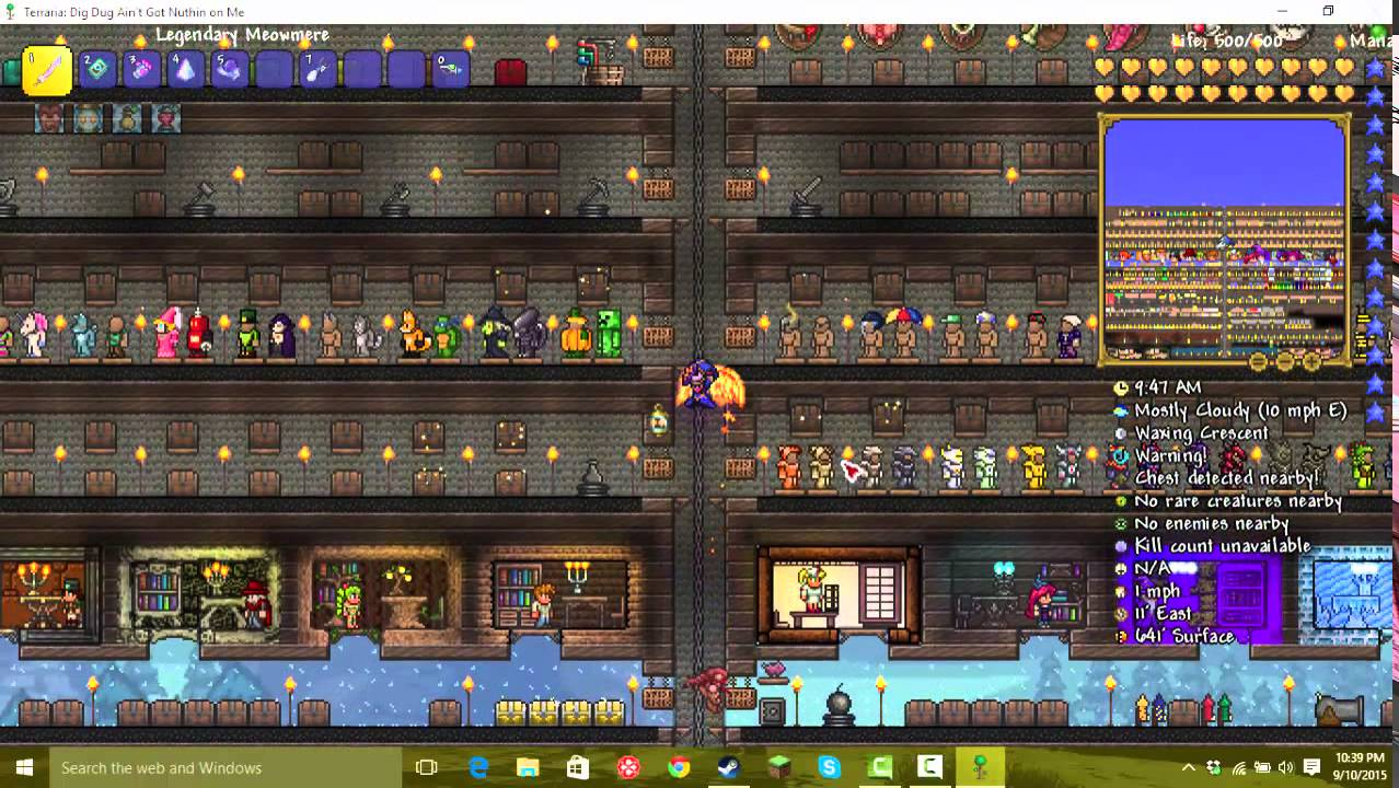 Terraria 1.3 All Items Map (Download)