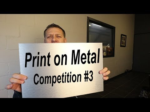 Vlog015  Photo Competition Number 3 - Print on Metal