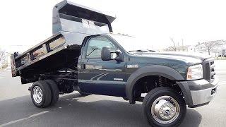 2005 Ford F450 Mason Dump Truck 4X4 Diesel