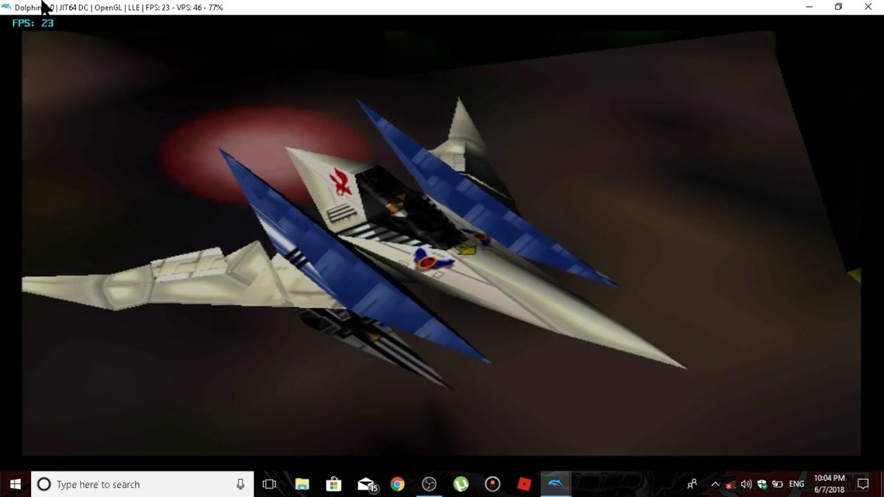 N64 ( WII virtual console LONG-PLAY) :STARFOX 64 (DOLPHIN EMULATOR)