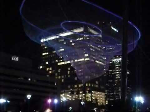 Downtown Phoenix at night, December 2011