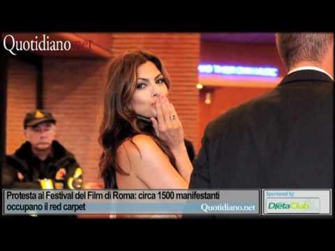 Protesta al Festival del Film di Roma: circa 1500 manifestanti occupano il red carpet