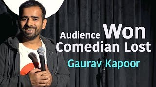 Gaurav Kapoor | Between The Jokes - 1 | Crowd Work | Audience Won Comedian Lost
