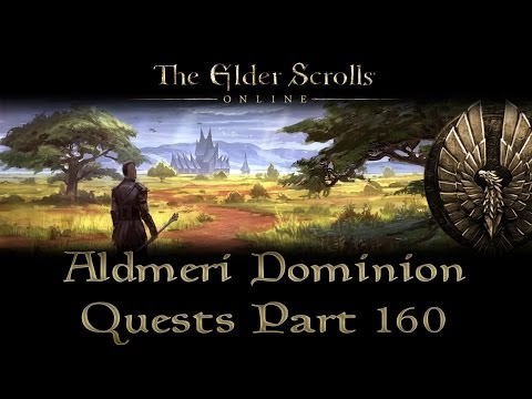 ESO - Aldmeri Dominion Quests - Part 160 -...