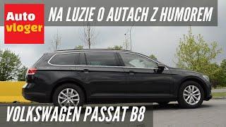 Volkswagen Passat B8 - na luzie