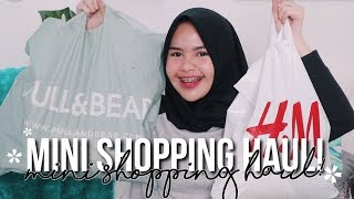 OUTFIT ANDALANNYA CANTIKA?! MINI SHOPPING HAUL!