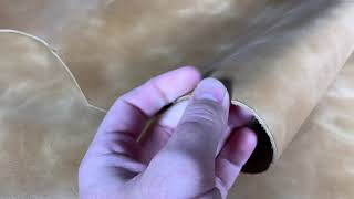 Video: copy of Brown beef skin