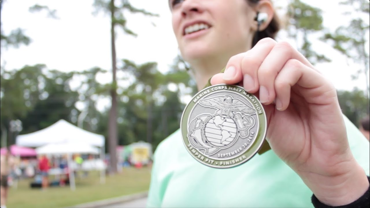 Marine Corps Half Marathon 2014 - YouTube