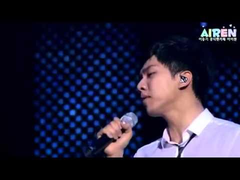 Lee Seung Gi Live At Budokan    Love Is Crying