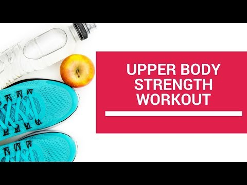 Faith, Food and Fitness Toolkit Upper Body Strength Workout