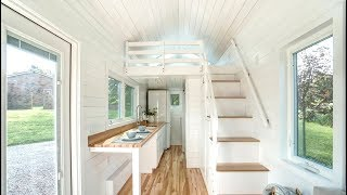 Beautiful Luxury Tiny House With Great Floor Plan