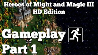 Heroes of Might and Magic III HD   Gameplay Part 1   No Commentary