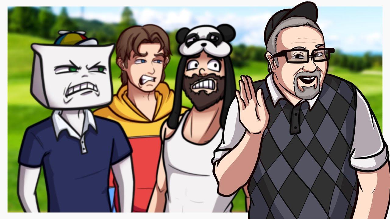 Mini Golf with Kryoz, Panda and Guy