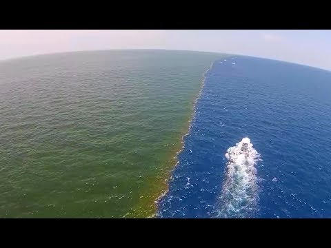 """Ocean Anomaly""   Strange phenomenon near Gulf of Alaska"