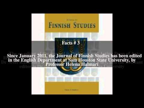 Journal of Finnish Studies Top # 6 Facts