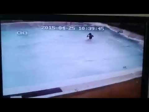 Earthquake Nepal (Swimming pool)