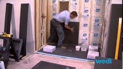 Wedi Shower Systems: 4' X 7' Shower Installation