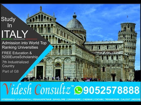 Study and Live in Italy | Italy Overview  travelling study abroad students job