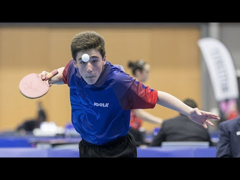 2017 US National Table Tennis Championships - Day 1 - Table 2