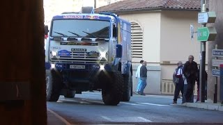 Monaco Dakar Africa eco race 2016 rallye raid partenza(Web Site by http://www.rivierarally.net/ Facebook https://www.facebook.com/pages/wwwrivierarallynet/273200069468?fref=ts You Tube Channel ..., 2015-12-27T17:38:18.000Z)
