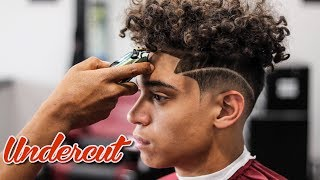barber tutorial undercut low fade with side part