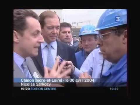 Sarkozy et la privatisation de GDF