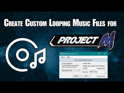 Create custom looping music tracks for Project M (Basic PM Modding Tutorial)