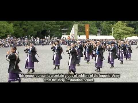 Jidai Matsuri - The Guide (HD, Documentary) Kyoto, Japan