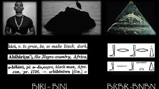 BLACK: Etymological & Cosmological Origins in Ancient Khanit & Kamit (Nubia & Egypt)