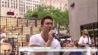 Maroon 5 : Harder To Breathe - The Today Show  06/29/2012