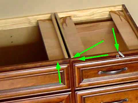 How to Join Cabinets by Attaching Face Frames part 3 : attach face frame to cabinet - Cheerinfomania.Com