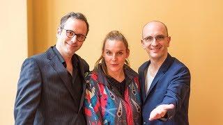 """""""Zwei Männer 3 Welten"""" – Krömer & Friends mit Judith Holofernes"""