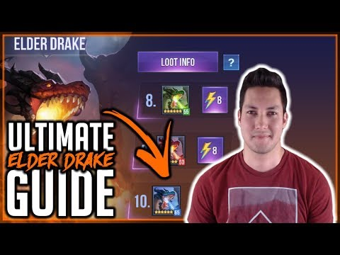 ULTIMATE ELDER DRAKE GUIDE | AUTO FLOOR 10! | Dungeon Hunter Champions