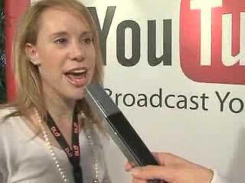 YouTube Reporter am DLD 2008 - Dina Kaplan