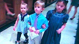 CUTE KIDS REHEARSING for NANNY'S WEDDING