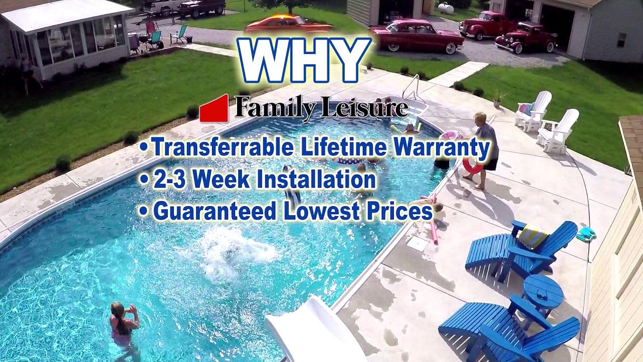 Family Leisure Inground Swimming Pool Sale - YouTube