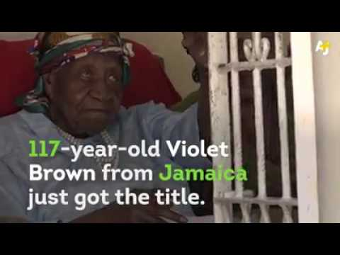 Violet Brown Speaks the Oldest Person in the World