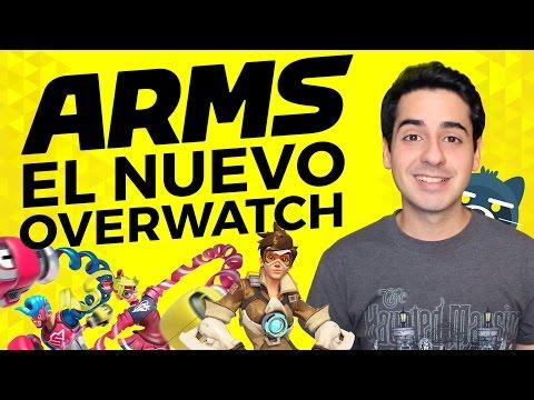 ARMS ¿El nuevo Overwatch? (Nintendo Switch)